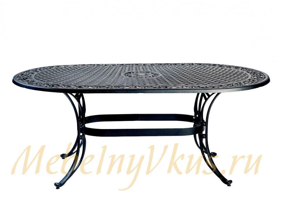 набор уличной мебели из литого алюминия больцано 077865