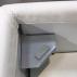 Кровать Vintage (Винтаж) с подъемным механизмом (стразы)-1