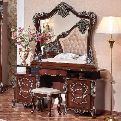 Спальня Джоконда Люкс (орех) с 5-ти створчатым шкафом-2