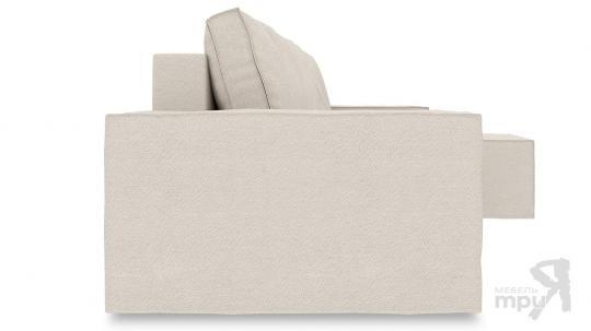 Диван угловой правый «Стенли Т1» Miami 01 (рогожка) песочный-1