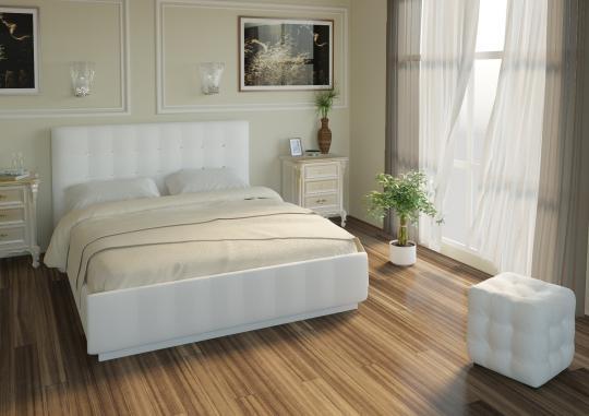 Кровать Лорена без матраса, без страз+основание-2