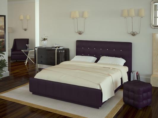 Кровать Лорена без матраса, без страз+основание-3
