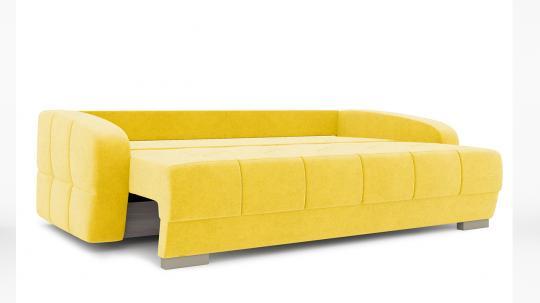 Диван «Аспен» Maserati 11 (велюр) желтый-4