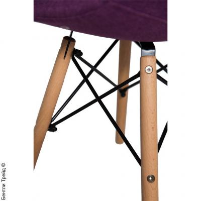 Стул Нар Фиолетовый на Деревянных Ножках DC825 PURPLE (KR860-28)-2