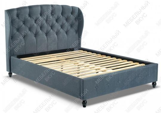 Кровать двуспальная Hadson 160х200 blue-2