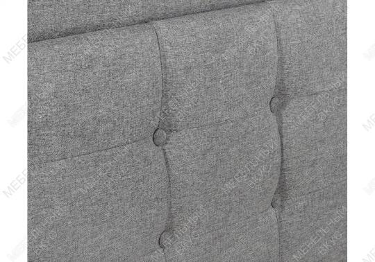 Кровать двуспальная Ameli 160х200 grey-5