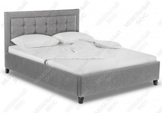 Кровать двуспальная Ameli 160х200 grey-4