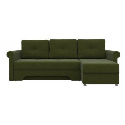 Угловой диван Гранд (Зеленый)-2