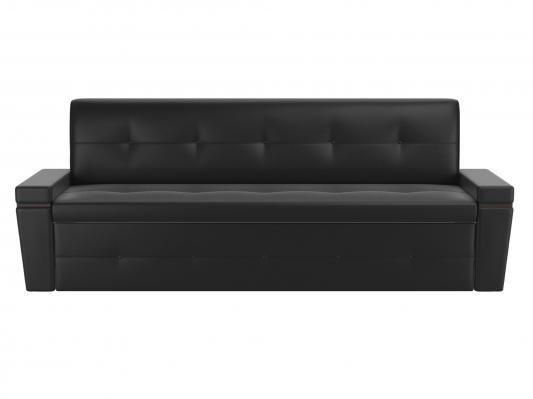 Кухонный диван Деметра (Эко-кожа Черный)-2