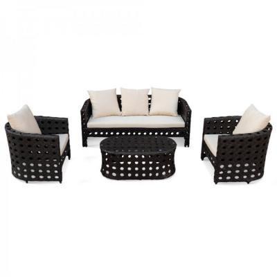 Комплект дачной мебели KVIMOL KM-0008 Black-1