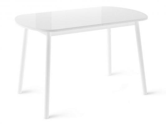 Обеденная группа для столовой и гостиной Мидел Белый-3