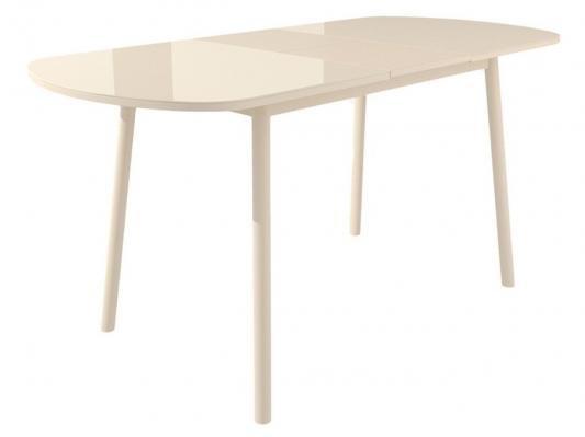 Обеденная группа для столовой и гостиной Мидел Кремовый-3
