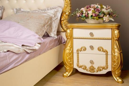 Спальная мебель «Амелия» бежевая-4