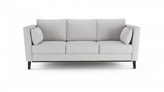 Диван-кровать «Неаполь» 3-х местный (даймонд белый)-1