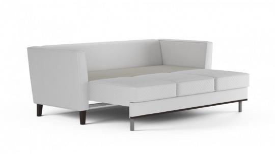 Диван-кровать «Неаполь» 3-х местный (даймонд белый)-5