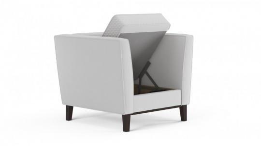 Кресло отдыха Неаполь (даймонд белый)-4