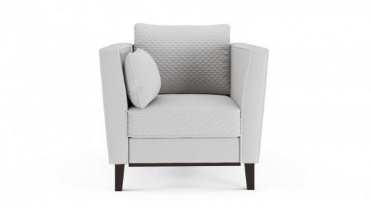 Кресло-кровать Неаполь (даймонд белый)-2