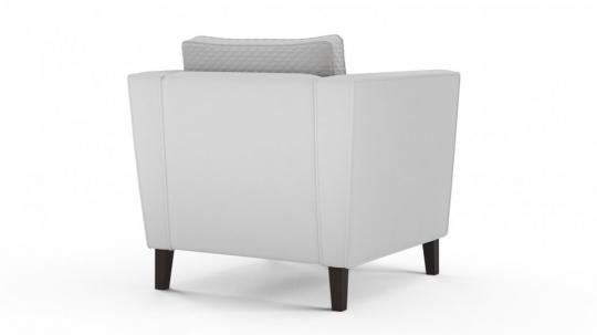 Кресло-кровать Неаполь (даймонд белый)-3