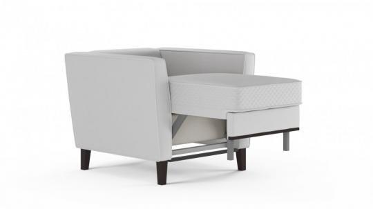 Кресло-кровать Неаполь (даймонд белый)-4