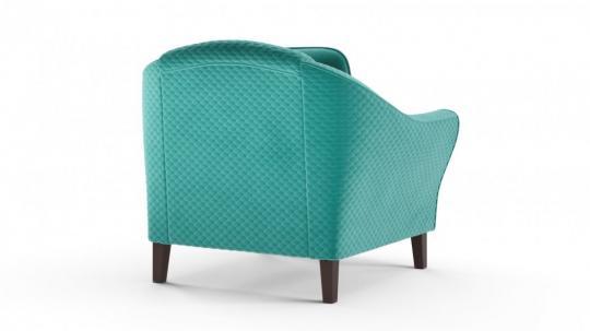 Кресло отдыха Монреаль (даймонд аквамарин)-2