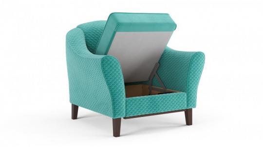 Кресло отдыха Монреаль (даймонд аквамарин)-1