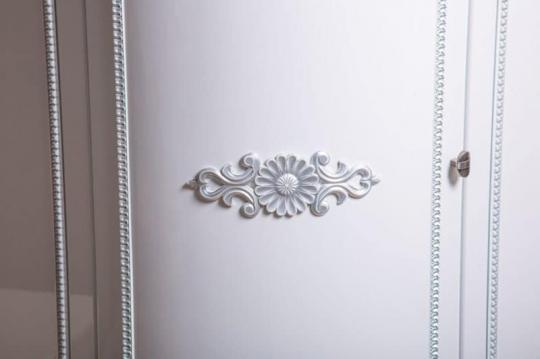 Обувница Динара 1.7 белое серебро-5