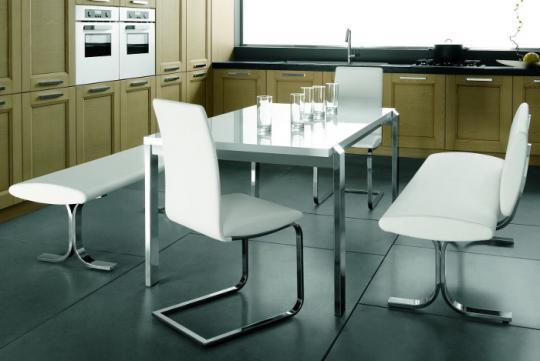 Металлический стул GENOVA-3