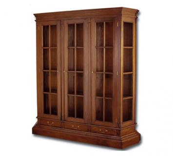 Шкаф библиотечный 3-х дверный DCPBD3-M