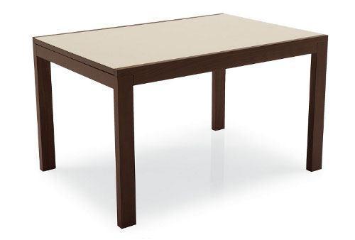 Стол деревянный NEW SMART 110 венге / капучино