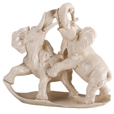 Скульптура Играющие Слоны-1