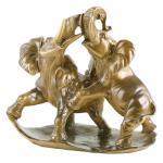 Скульптура Играющие Слоны