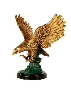Скульптура Орел на волне