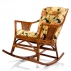 Кресло-качалка Canary с подушкой-1
