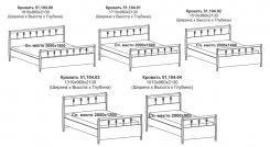 Кровать 4 (без ортопедического основания)