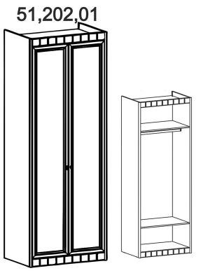 Шкаф 2-створчатый