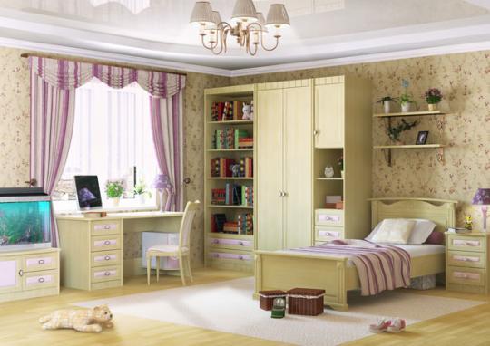 Молодежная комната Итальянские Мотивы вариант №8