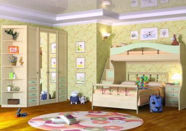 Детская комната Итальянские Мотивы вариант №8