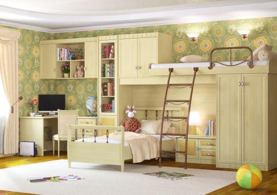 Детская комната Итальянские Мотивы вариант №7