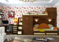 Детская комната Итальянские Мотивы вариант №4