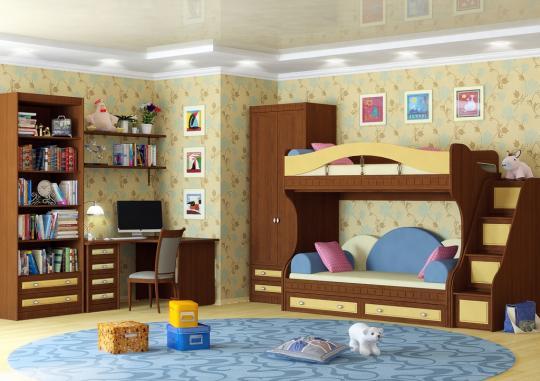 Детская комната Итальянские Мотивы вариант №3