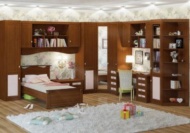 Подростковая комната Итальянские Мотивы вариант №1