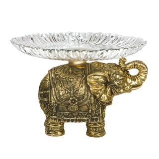 Фруктовница-конфетница Слон индийский-2