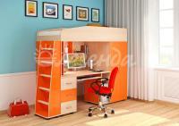 Кровать-чердак Легенда-1 со столом