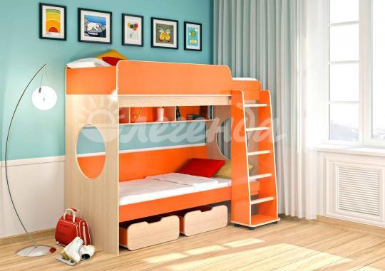 Кровать-чердак Легенда-7 комплектация 1-4