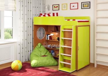Кровать-чердак Легенда-5 комплектация 1