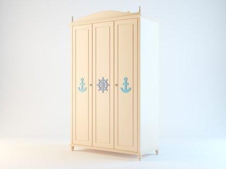 Шкаф 3-х дверный Винсенте