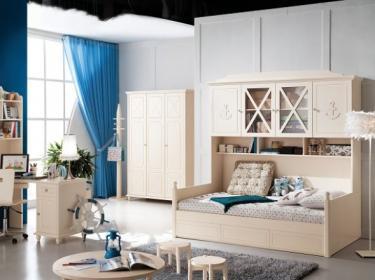 Комби-кровать с ящиком для белья Флавио