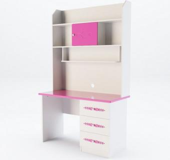 Компьютерный стол Стефания с надстройкой