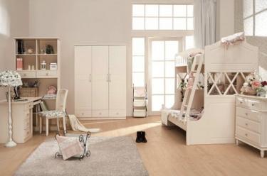 Двухярусная кровать Арриго с дополнительным спальным местом