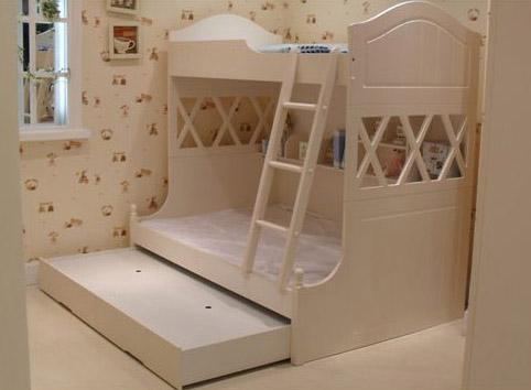 Двухярусная кровать Арриго с дополнительным спальным местом -1